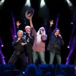 Alabama, which is celebrating its 40th anniversary, performs Aug. 16 at the Kentucky State Fair. l to r: Jeff Cook, Randy Owen, Teddy Gentry