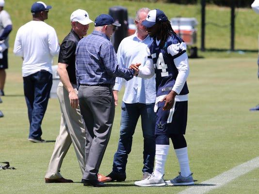 NFL: Dallas Cowboys-Rookie Minicamp