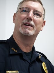 Todd Shepard was sworn in as the new police chief in