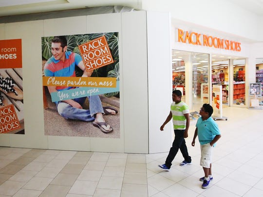 Rack Room Shoes is expanding their store in the Edison Mall in Fort Myers. Adapting has helped keep the mall afloat.