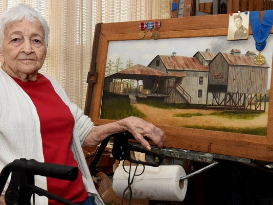 Still Painting at 90 Years Young