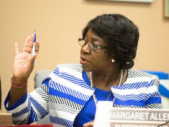Montgomery Public Schools superintendent Margaret Allen