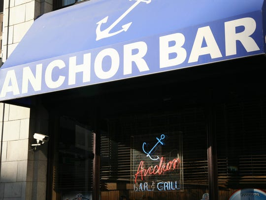 Anchor Bar located at 450 W. Fort, Detroit.