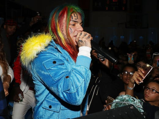 Rapper Tekashi 6ix9ine pleads guilty in New York City gang case