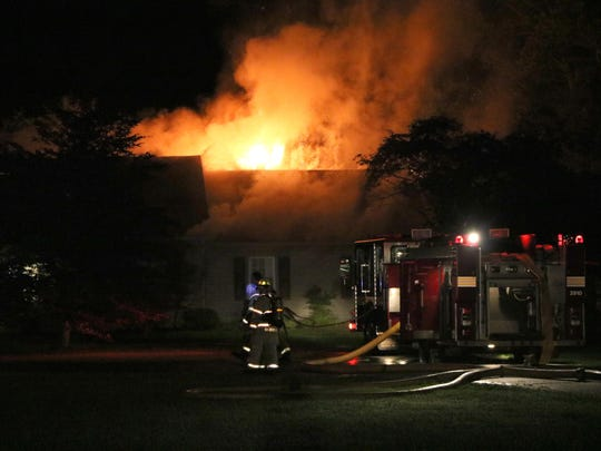 No injuries were reported in a house fire early Thursday morning at 1582 Ohio 60 in Ashland.