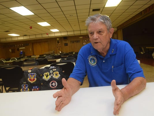ANI Vietnam Veteran Retired Air Force Senior Master Sgt. Rodney-Lee Guidry talks about his service in Vietnam. It is the 50th anniversary of the war. The Veterans of Foreign Wars kicks off their state convention Wednesday.-Melinda Martinez/The Town Talk