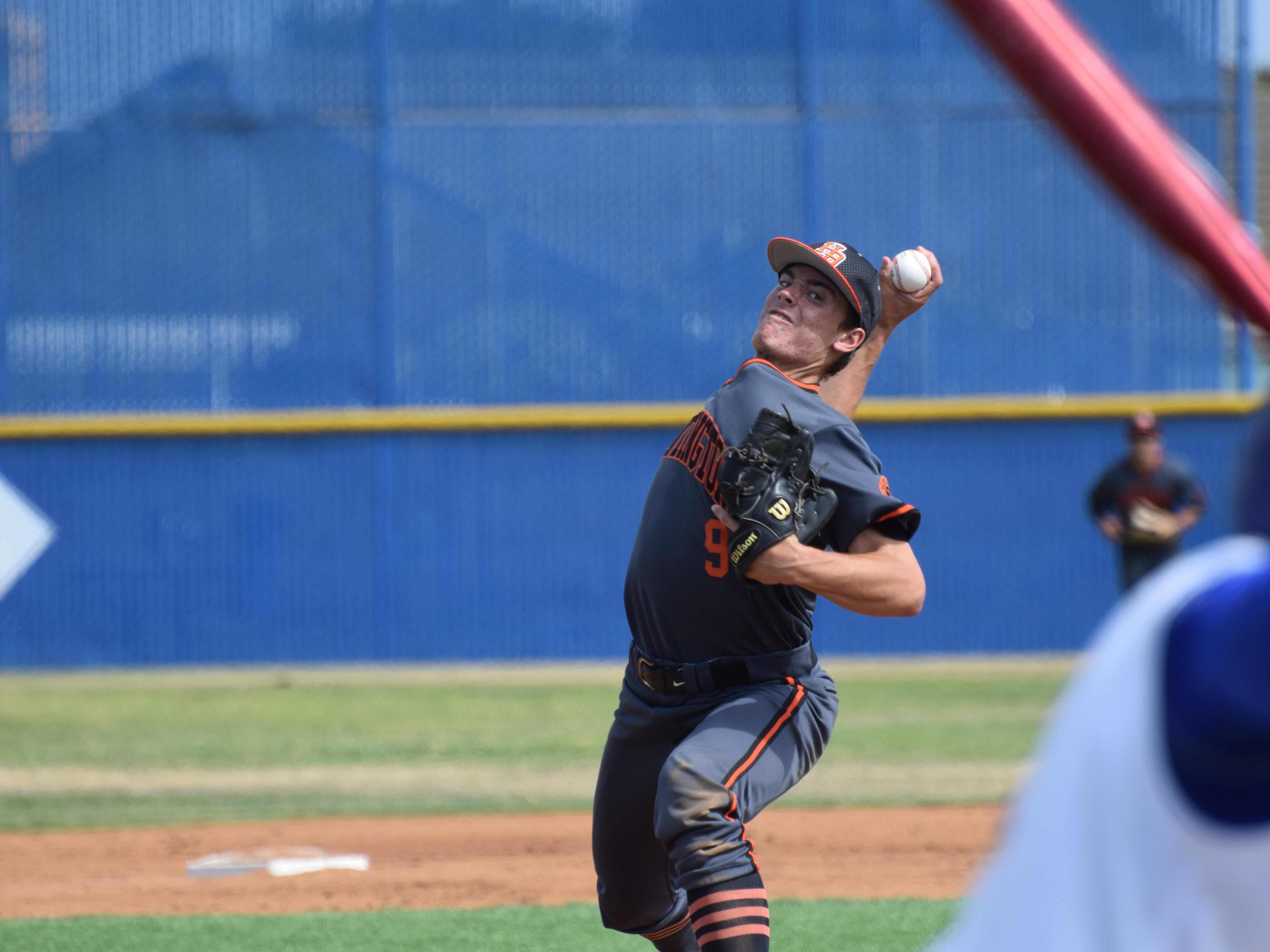 Hagen Danner, 16-year-old son of Madison grad Scott Danner, is one of the top young pitching prospects in the nation.