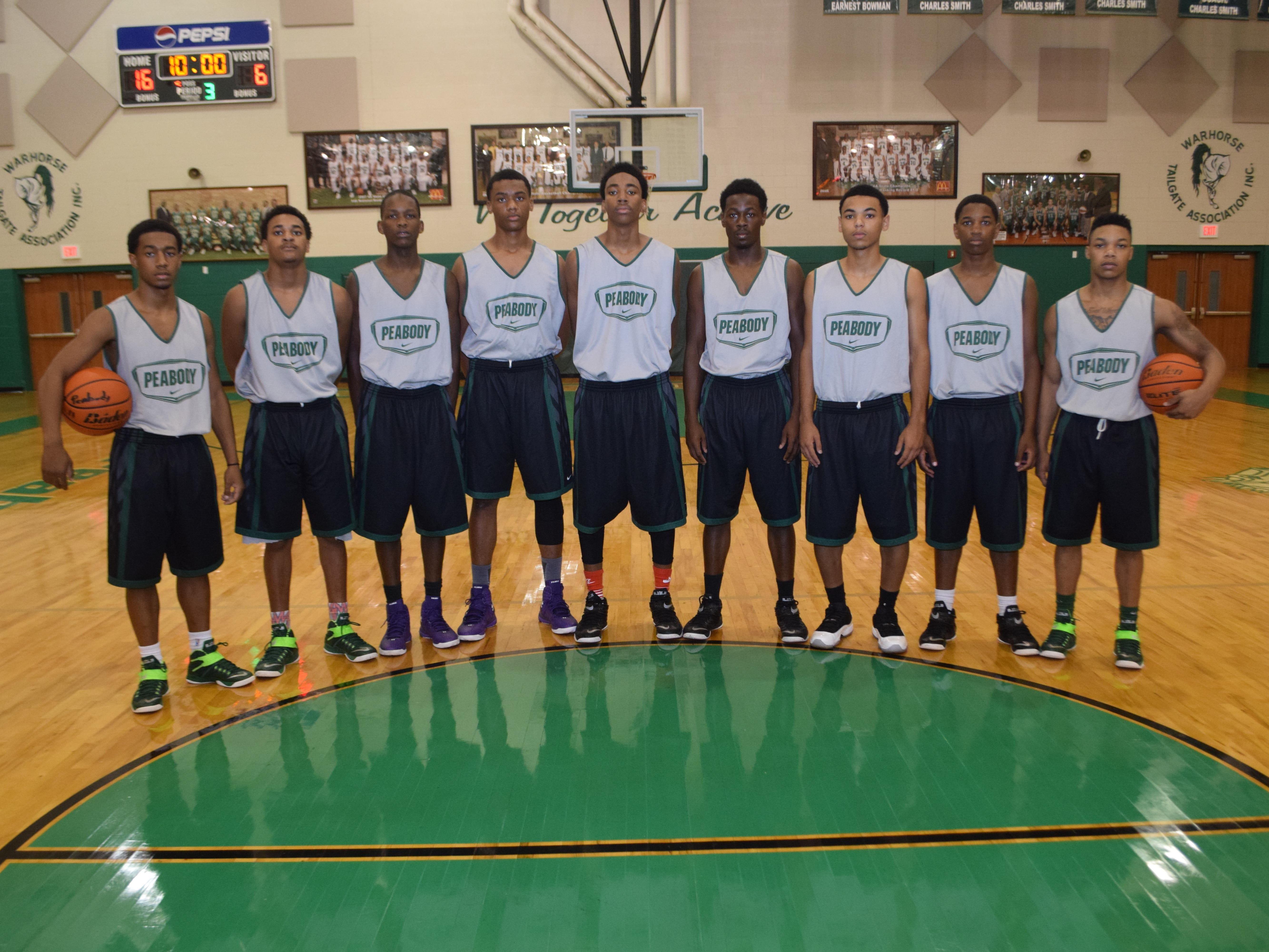 The Peabody Magnet High School basketball team won the Houston National Summer Showcase Sunday.