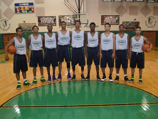 The Peabody Magnet High School basketball team won the Houston National Summer Showcase Sunday.