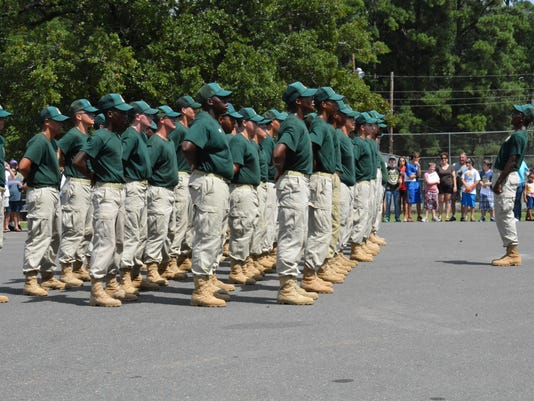 YCP cadets in formation