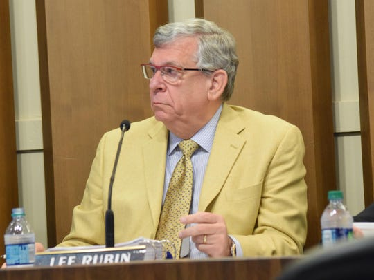 """Alexandria Councilman Lee Rubin says of downtown development: """"We have to figure out a way to make this happen without taxing our citizens because I think they are at the point where they don't want to pay more taxes."""""""