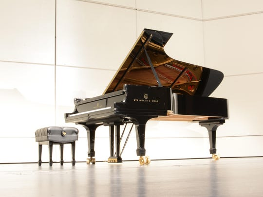 Sean Chen and Eric Zuber will show off the new Steinway D Concert Grand piano's sounds at a dedication.