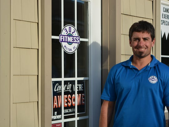 John Lehne is the owner and sole employee of 302 Fitness, a personal training center in Milton.