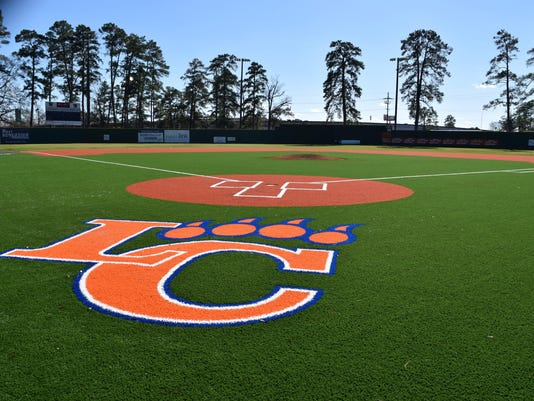 The baseball field at Louisiana College got a makeover.