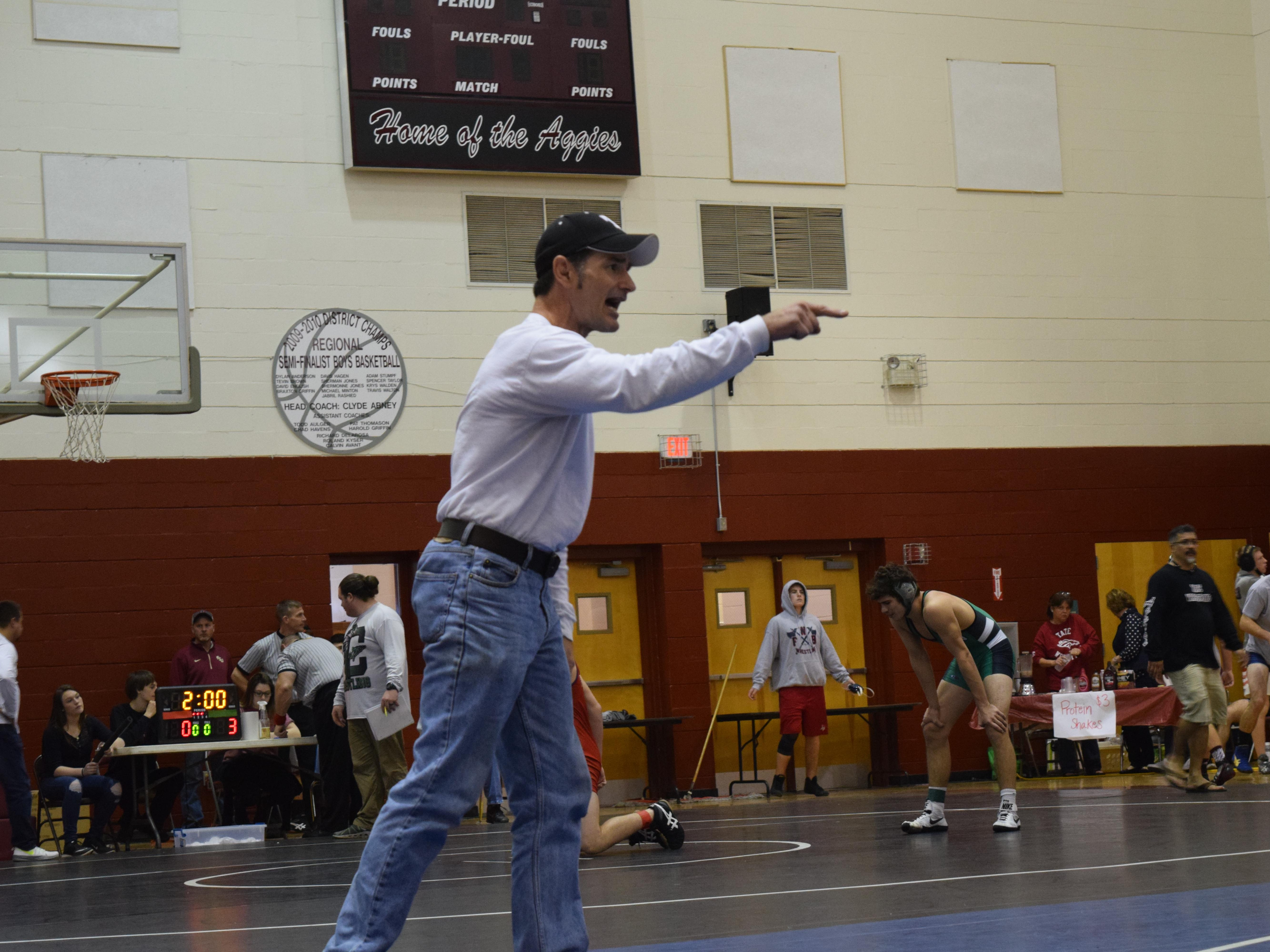 Tate High coach Reggie Allen has wrestling team pointed in the right direction heading into this weekend's Region 1-2A championship tournament in Tallahassee.
