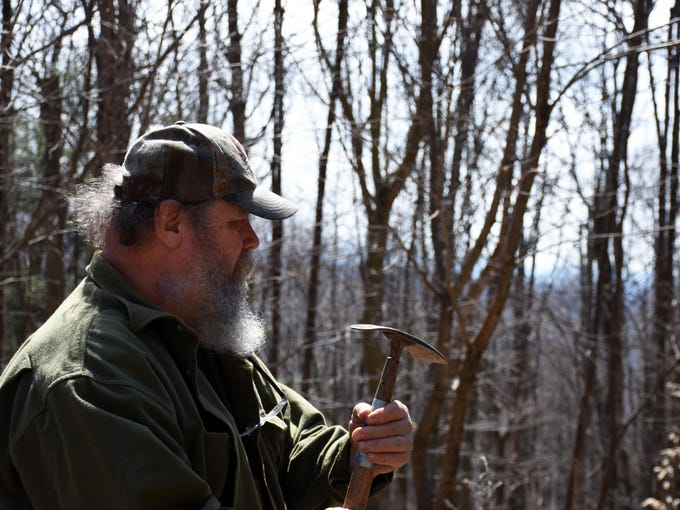 Jay Marion, whose family history of foraging stretches