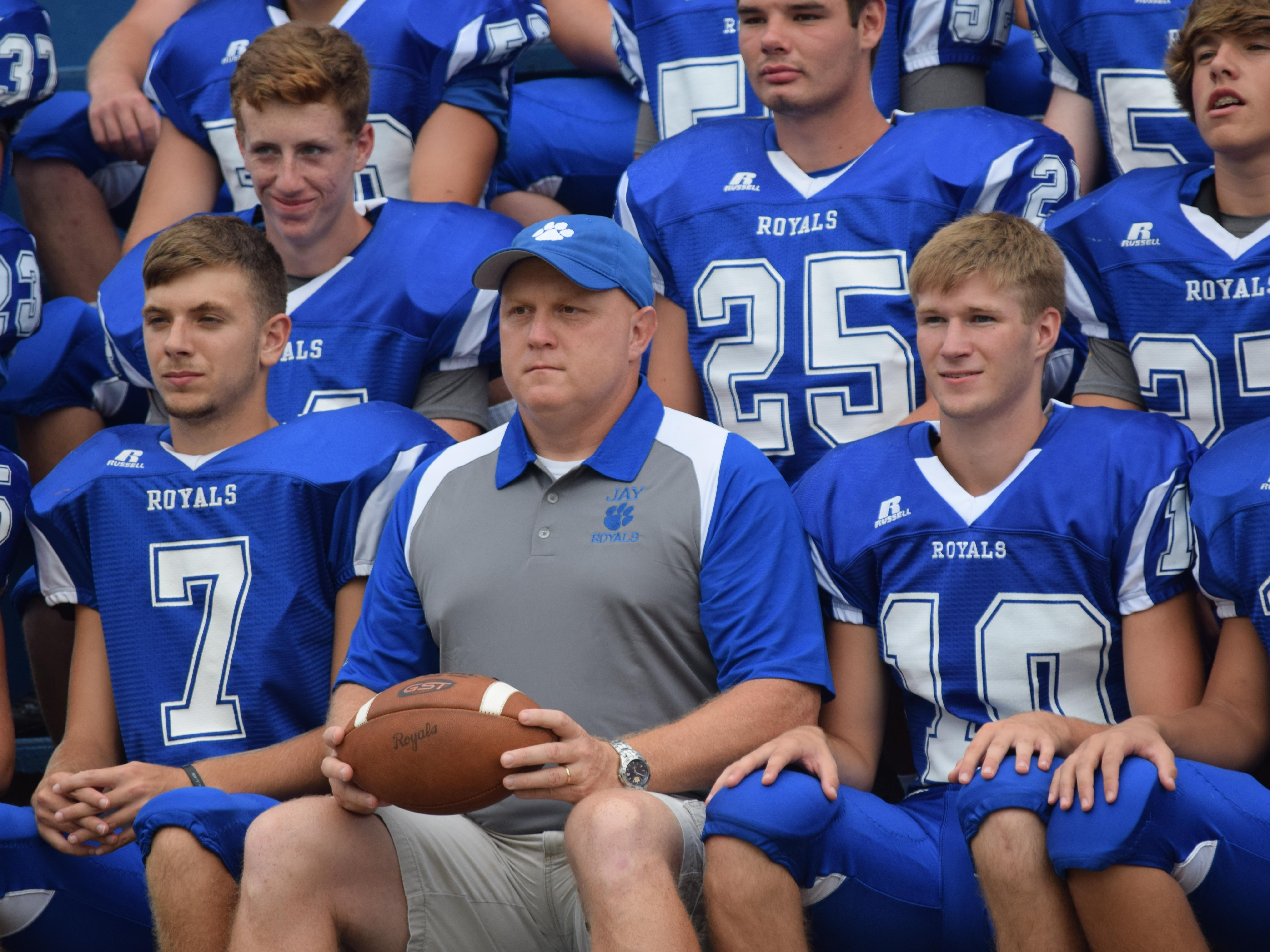 New Jay coach Melvin Kersey, a former Royals fullback and linebacker, has 46 players on this year's team, including 15 freshman and 13 sophomores.