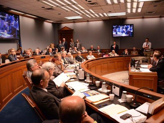 State budget hearing Baton Rouge