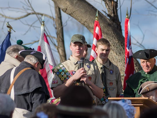 Joseph Kiely, a 14-year-old freshman at Covington Catholic High School, wanted to clean up a local cemetery, one where it is believed his sixth great grandfather, John Graves, was buried. On Nov. 20, he was inducted into the Sons of the American Revolution after his work.