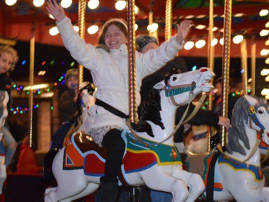 Abigail Mulvenna, 8, of Philadelphia rides hands-free