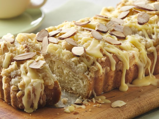 Sweet Orange and Toasted Almond Coffee Cake by Bee Englehart of Bloomfield Township was a semifinalist in the 2013 Pillsbury Bake-Off's Quick Rise and Shine Breakfast category.