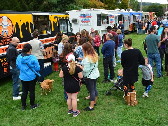 More than 25 food trucks will be at the Chester Food Truck & Music Festival on Saturday.