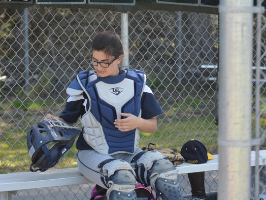 Rose Henderson's love for baseball as a kid led her to playing catcher for the Mariners in her senior year.