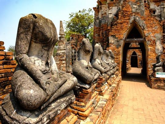 Ayutthaya, Thailand, Ruins