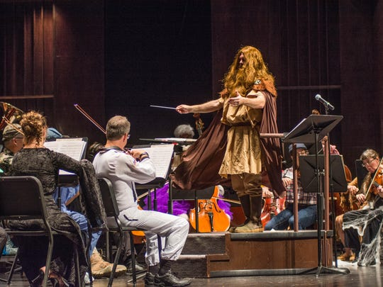 The ninth annual Spooky Symphony is Monday, and it's