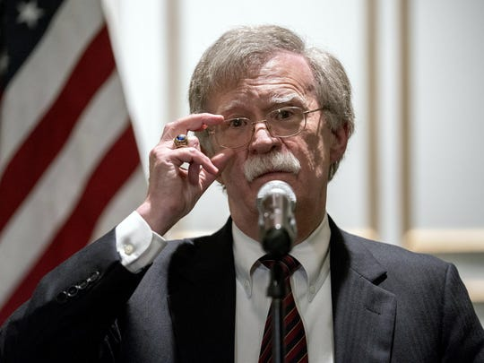 When Trump publicly fired Bolton in a tweet last September, Bolton fired back that he had offered to resign first.