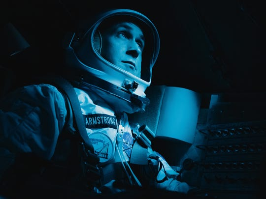 """Ryan Gosling stars as Neil Armstrong in """"First Man."""""""