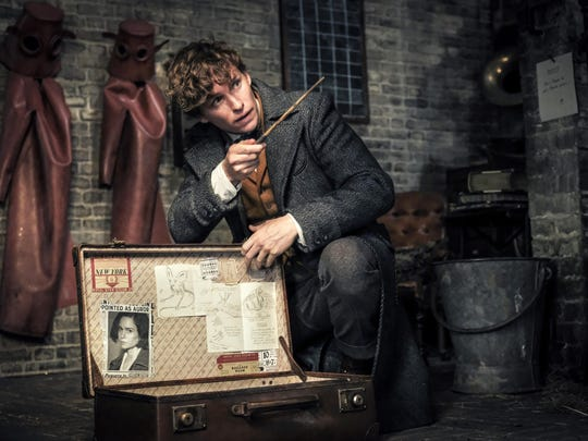 "Eddie Redmayne stars in ""Fantastic Beasts: The Crimes of Grindelwald."" The movie opens Thursday at Regal West Manchester Stadium 13 and R/C Hanover Movies."