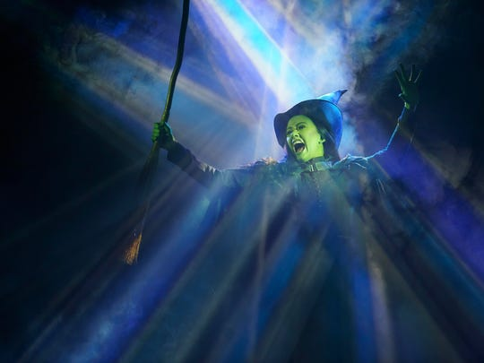 """""""Wicked,"""" set for April 1-19, 2020, continues to attract families and the fans it has had since it launched to huge success in 2003."""