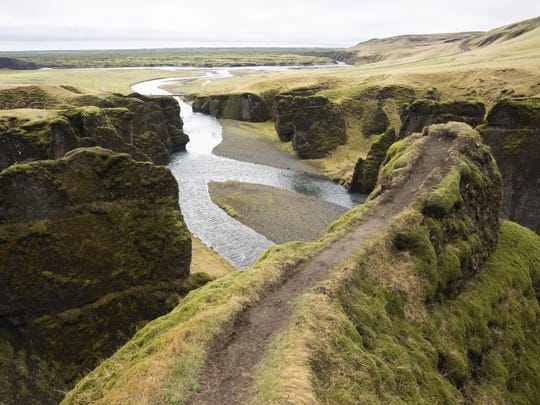"The Fjadrárgljúfur canyon in Iceland has suffered environmental damages after intense traffic, prompted by the music video ""I'll Show You"" by Justin Bieber."