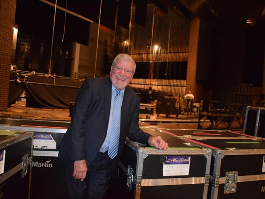 Mike Brand, Executive Director of Wharton Center for Performing Arts.