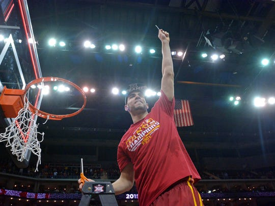 Iowa State's Georges Niang averaging 15.5 points and 5.4 rebounds a game, was named first-team all-Big 12. He was also the Big 12 Tournament MVP.