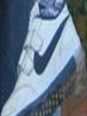 The victim in the case under investigation by the FBI was shown wearing these Nike sneakers.