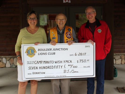 Lions Donation Camp Manitowish