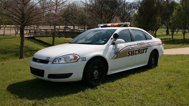 Caddo sheriff's vehicle