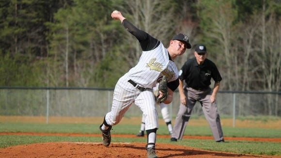 Hayesville's Connor Thompson is the Smoky Mountain Conference Pitcher of the Year