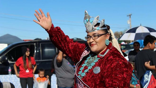 Kahlaya McKinney, 2015-16 Miss Gallup Inter-Tribal Indian Ceremonial Queen, will appear at third annual Native American Market weekend activities Saturday and Sunday at Mesilla Valley Bosque State Park, 5000 Calle de Norte.
