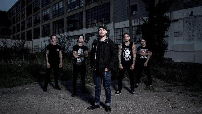 Meet Crucible, a hard-hitting metal band that bring together members of Michigan groups We Came as Romans and Taproot.