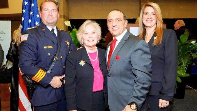Republican incumbents Sheriff Shaun Golden, Surrogate Rosemarie Peters and Freeholders Tom Arnone and Serena DiMaso officially announced their plans to seek re-election