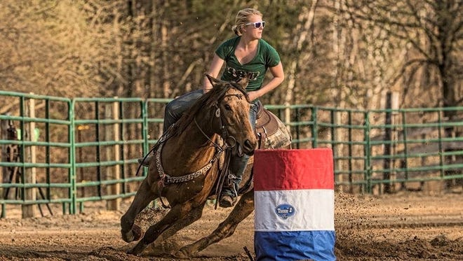 This weekend will mark Hanna Menne's first time competing at the Spartan Stampede, but she has years of experience.