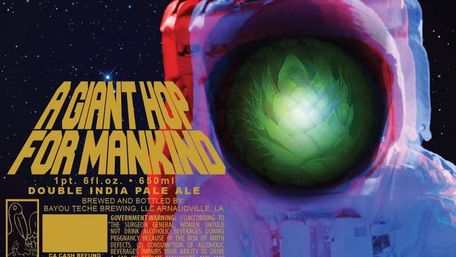 A Giant Hope for Mankind from Bayou Teche brewing.