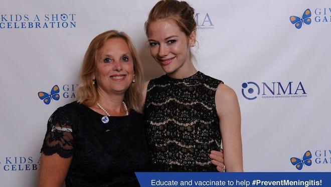 Chris Brison, left, and her daughter, Caitlin Brison.
