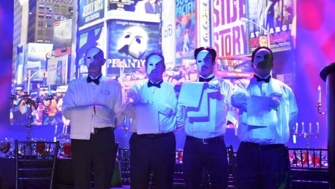Phantom waiters at the ready.