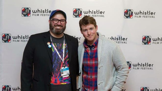 """Writer and director Josh Hope (left) selected Tommy Beardmore for the lead role of Riley for """"The Life and Death of an Unhappily Married Man."""""""