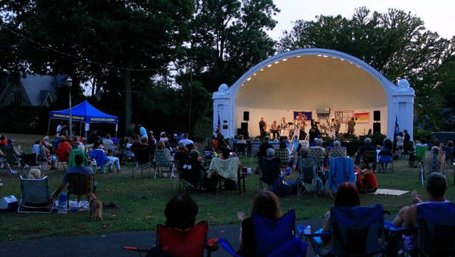 The New Rochelle Council on the Arts scheduled concerts every week over the summer.