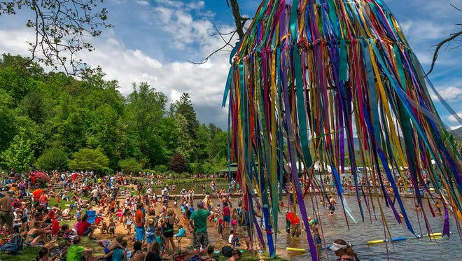 About 6.000 people daily will be at the spring LEAF May 12-15 in Black Mountain and many will spend money in area shops, restaurants and motels and hotels.